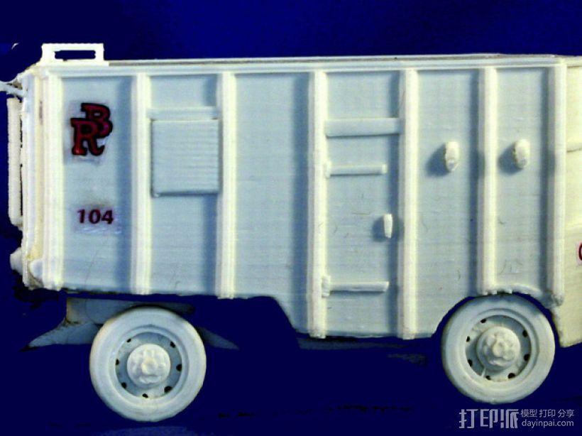 大篷车 3D模型  图7