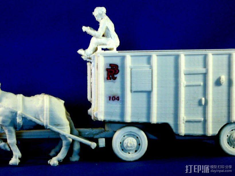 大篷车 3D模型  图8