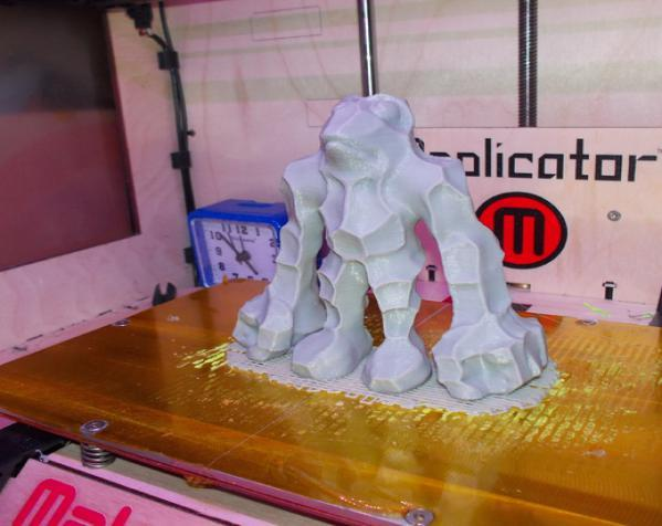 石蛙 3D模型  图2