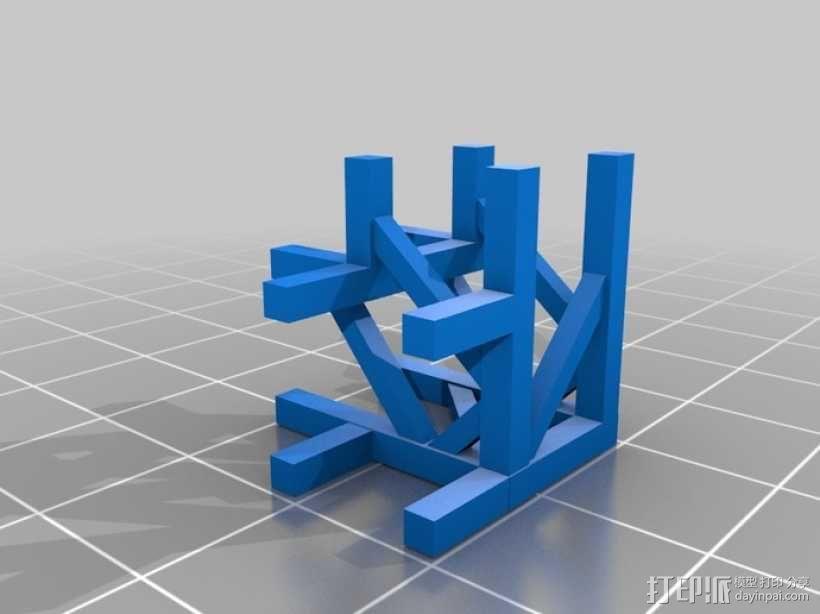 模块化高架结构 3D模型  图4