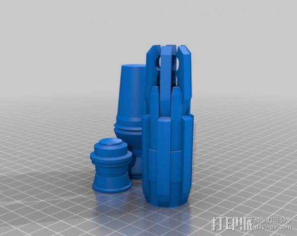 《神秘博士》音速起子  3D模型  图4