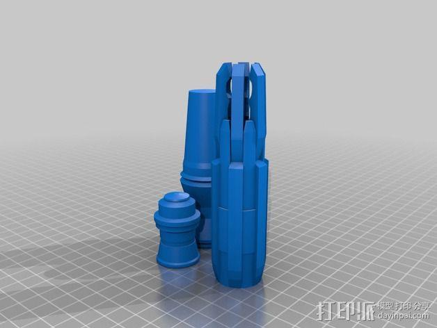 《神秘博士》音速起子  3D模型  图2