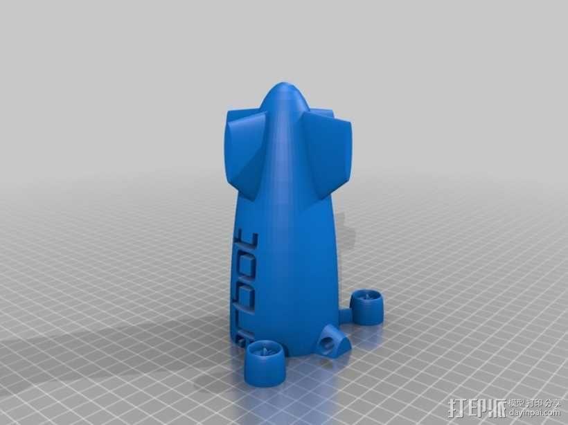 定制化小型飞船  3D模型  图5