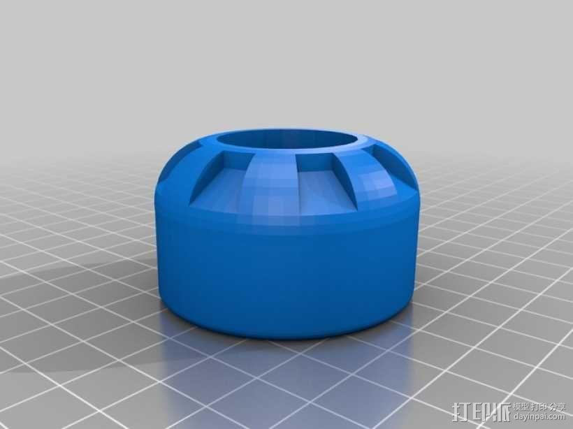 微量熔化细胞弹药 3D模型  图1