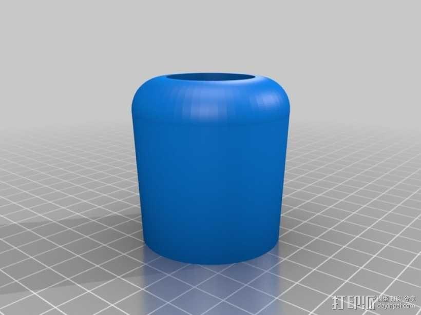 微量熔化细胞弹药 3D模型  图2