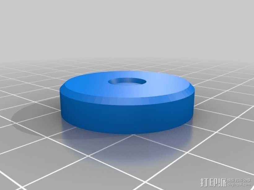微量熔化细胞弹药 3D模型  图4