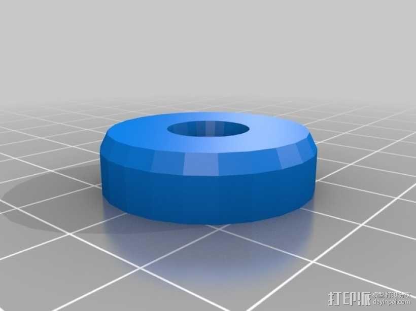 微量熔化细胞弹药 3D模型  图5
