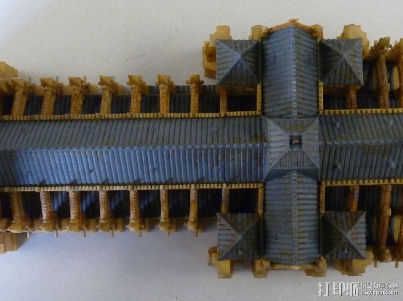 法国兰斯大教堂  3D模型  图8
