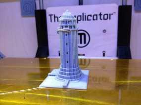 游戏《Minecraft》灯塔 3D模型