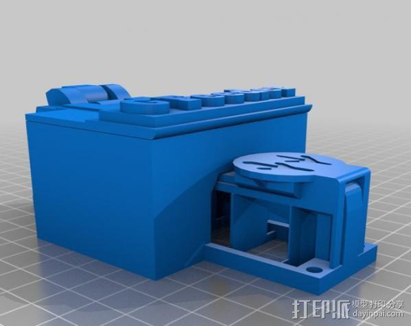 喂食器 3D模型  图1