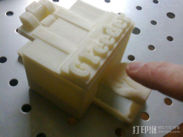 喂食器 3D模型  图3