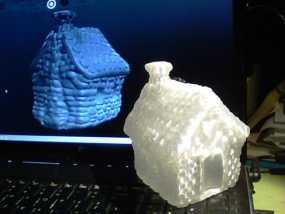 小石屋 3D模型