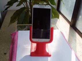 三星桌面支架 3D打印制作