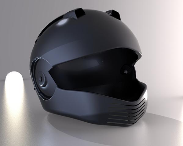 外壳全脸头盔 3D模型  图3