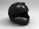 外壳全脸头盔 3D模型 图5
