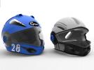 外壳全脸头盔 3D模型 图6
