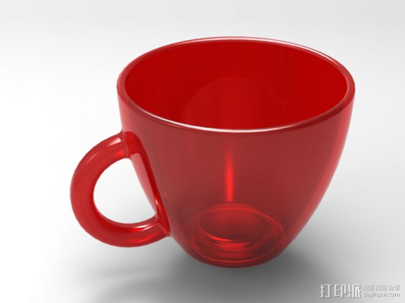 杯子 3D模型  图1