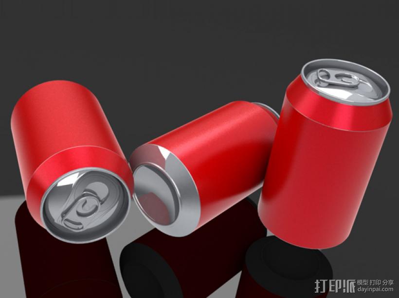 易拉罐 3D模型  图3