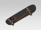 滑板 3D模型 图2
