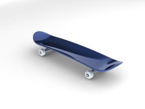 滑板 3D模型
