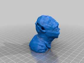 master yoda 尤达大师 3D模型