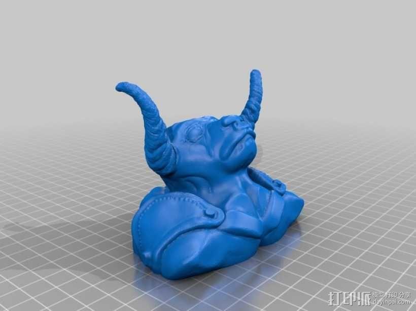 牛头怪 3D模型  图4