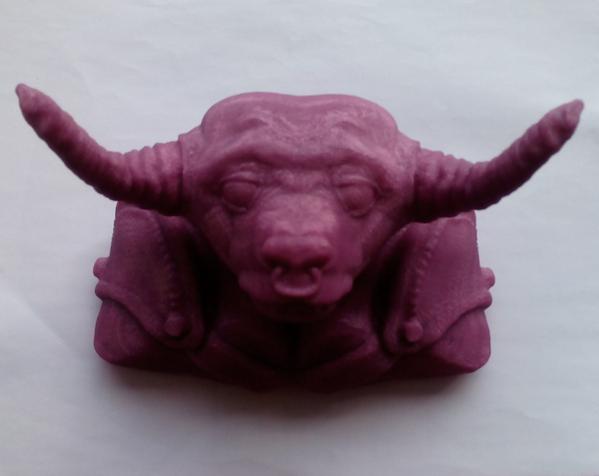 牛头怪 3D打印制作  图3