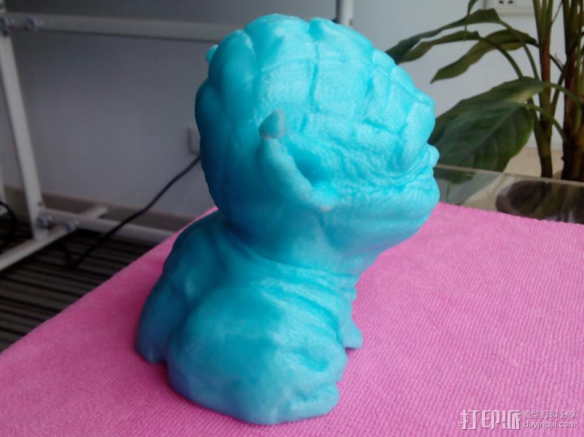 尤达大师 3D打印制作  图3