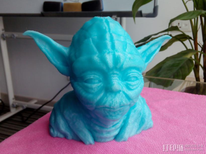 尤达大师 3D打印制作  图1