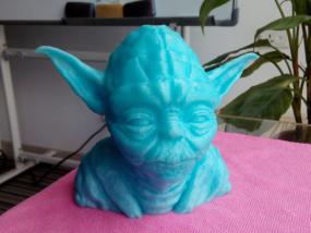 尤达大师 3D打印制作
