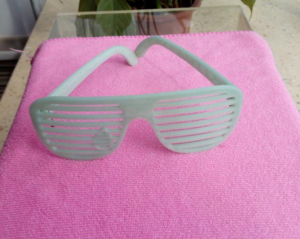 快门眼镜 3D打印制作  图3