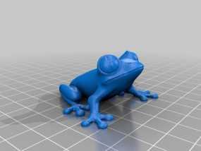 非洲树蛙 3D模型