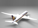 飞机模型 3D模型 图1