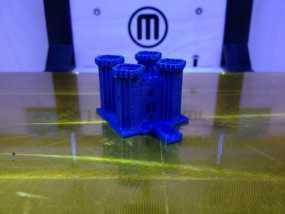 游戏《Minecraft》城堡 3D模型