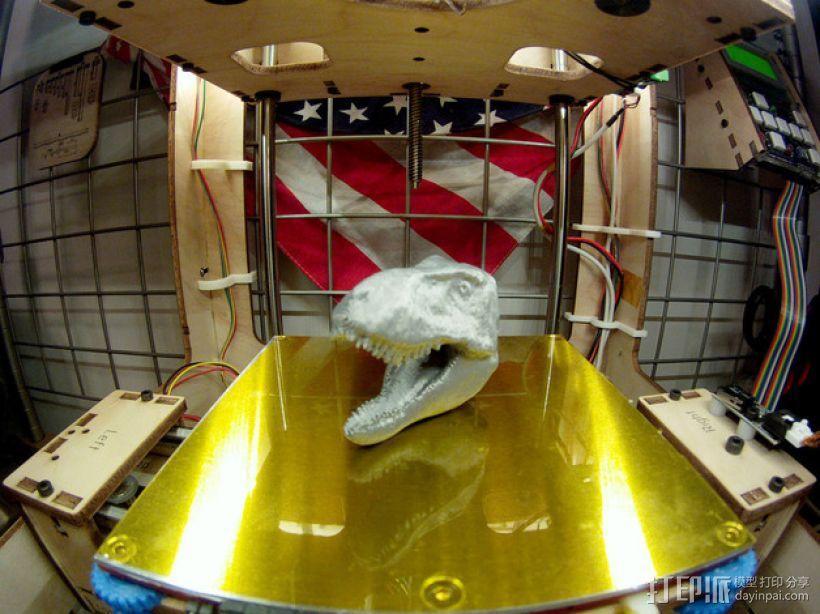 霸王龙 3D模型  图1