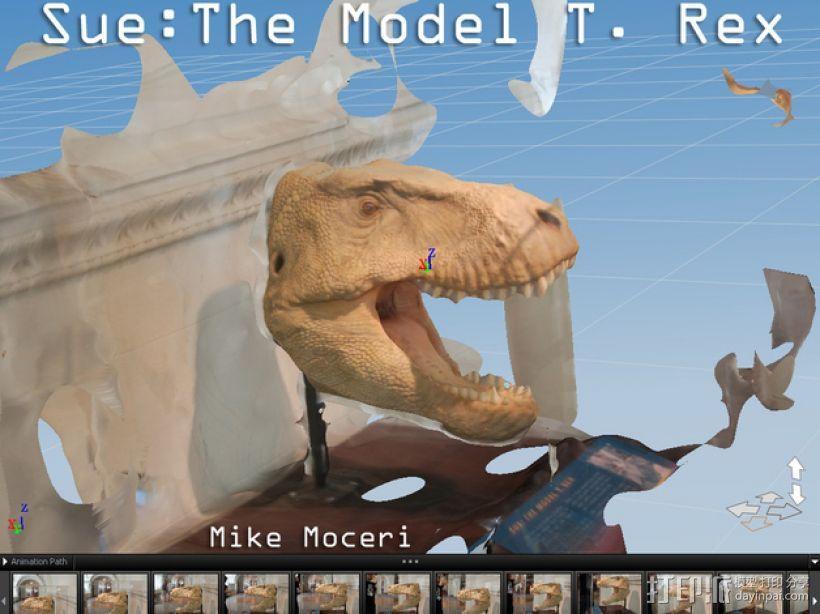 霸王龙 3D模型  图4