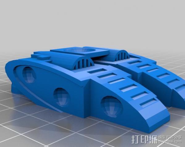 机器奴工 玩偶 3D模型  图2
