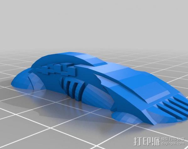 机器奴工 玩偶 3D模型  图3