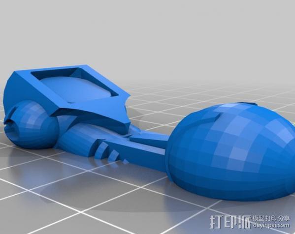 机器奴工 玩偶 3D模型  图4