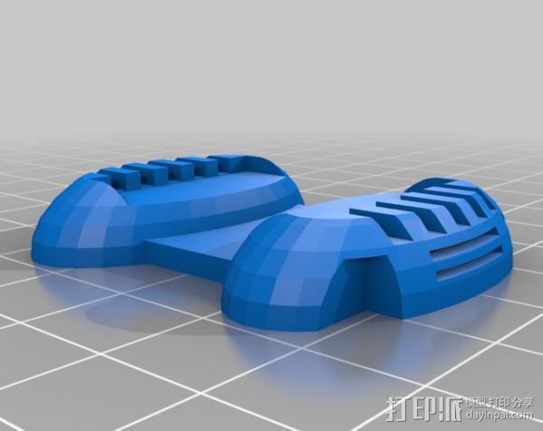 机器奴工 玩偶 3D模型  图5