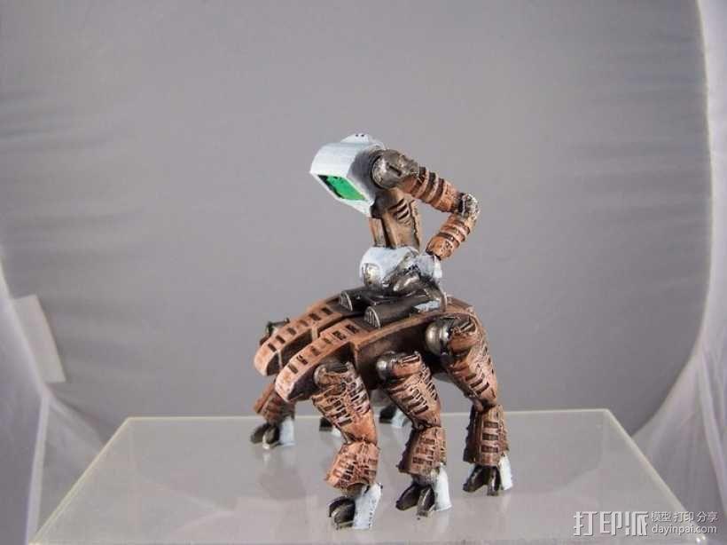 机器奴工 玩偶 3D模型  图9