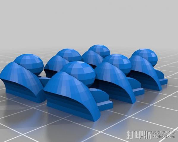 机器奴工 玩偶 3D模型  图14