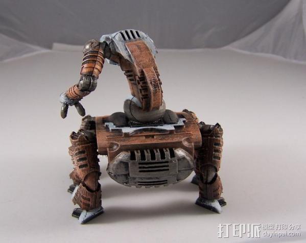 机器奴工 玩偶 3D模型  图11