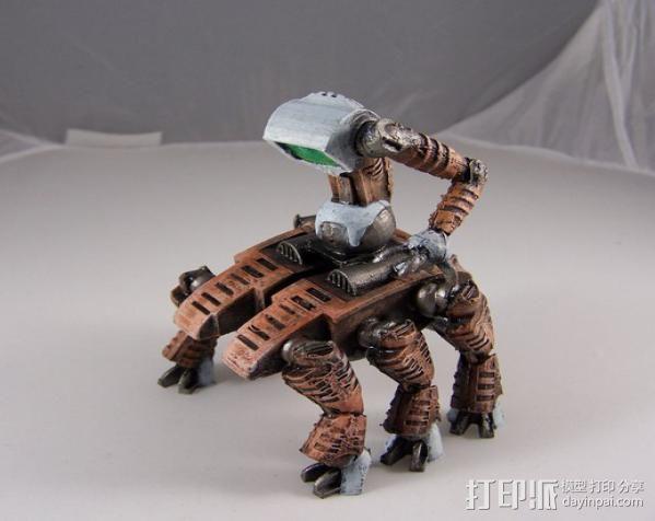 机器奴工 玩偶 3D模型  图10