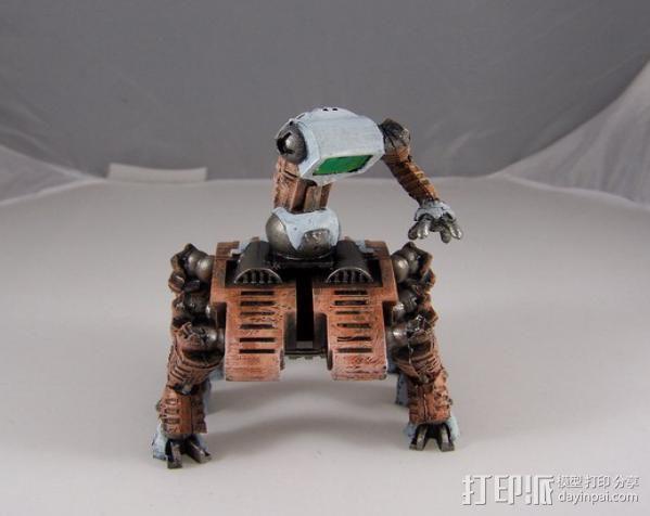 机器奴工 玩偶 3D模型  图13