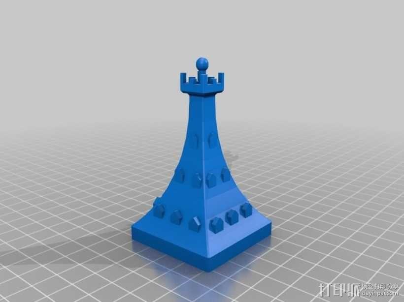 大本钟 3D模型  图12