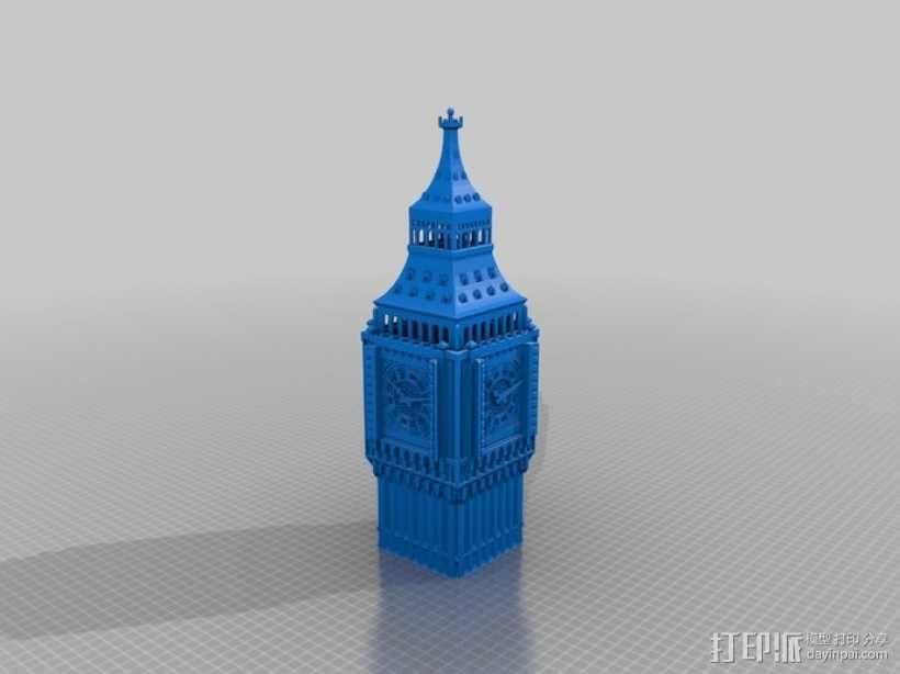 大本钟 3D模型  图17