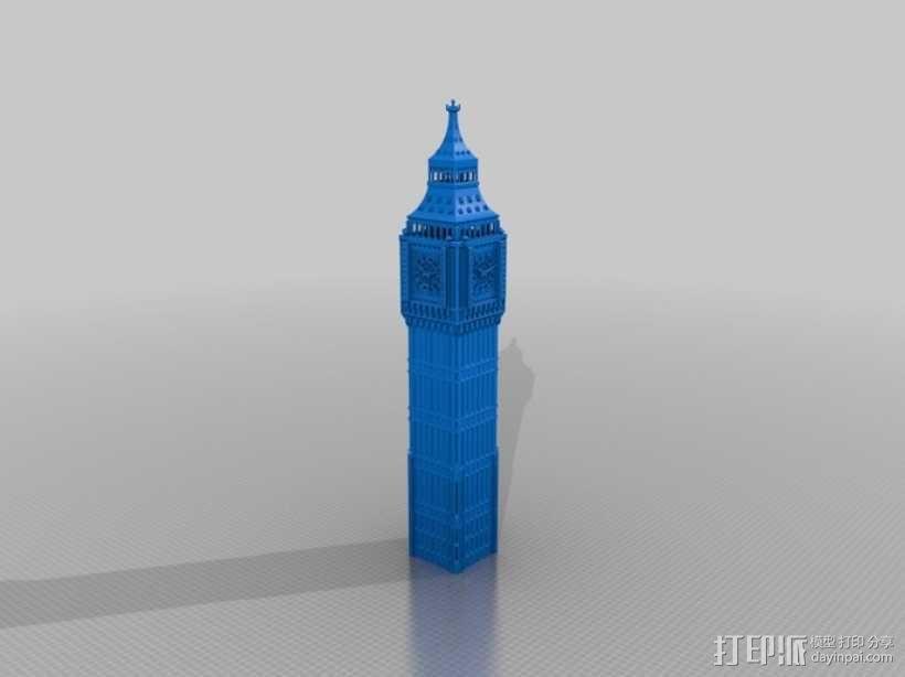 大本钟 3D模型  图22