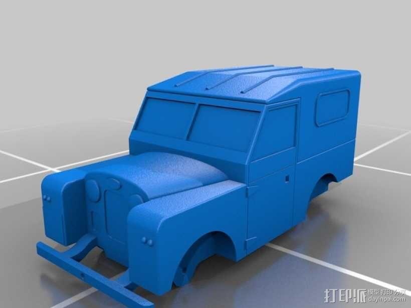 路虎越野车 3D模型  图3