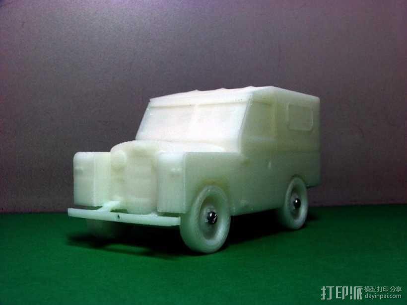路虎越野车 3D模型  图2